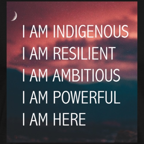 I am indigenous - Men's Premium T-Shirt