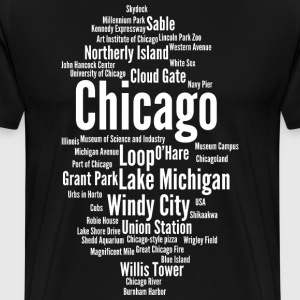 Chicago (Windy City; Illinois, USA) - Men's Premium T-Shirt