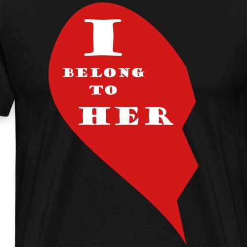 Valentine is coming: show your love - Men's Premium T-Shirt