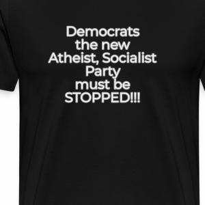 Stop the Democrats - Men's Premium T-Shirt