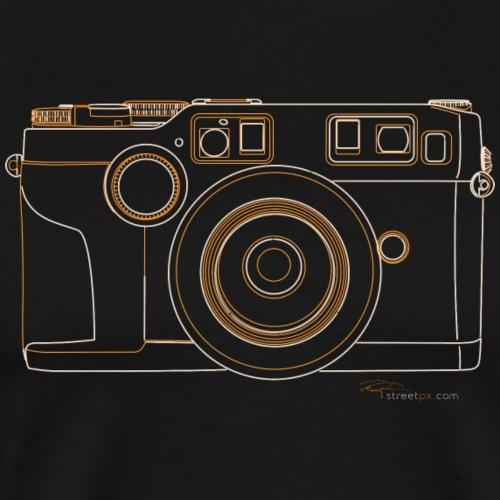 Camera Sketches - Contax G2 - Men's Premium T-Shirt