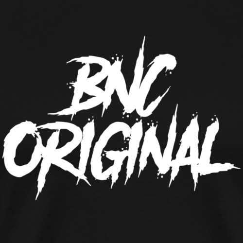 BNC Original (Danger/White) - Men's Premium T-Shirt