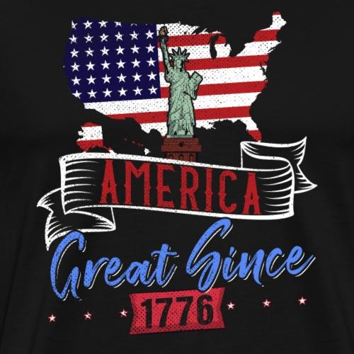 AMERICA GREAT SINCE 1776 - Men's Premium T-Shirt
