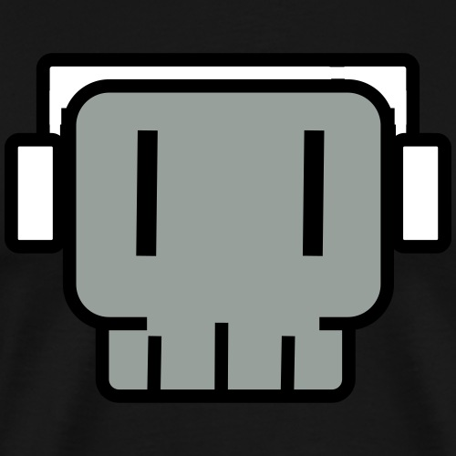 headphones skullkid - Men's Premium T-Shirt
