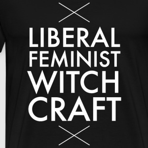 Feminist - Liberal feminist witch craft - Men's Premium T-Shirt