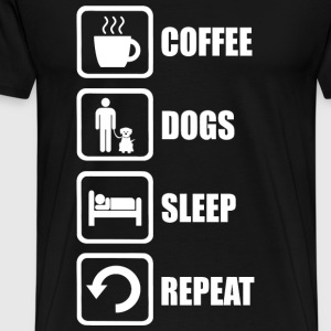 Dog Lover - Funny Dog Lovers - Men's Premium T-Shirt