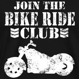Ride - join the ride club - Men's Premium T-Shirt
