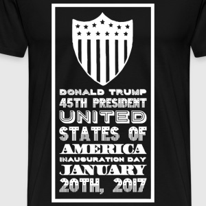 Donald Trump - Donald Trump 45th President Unite - Men's Premium T-Shirt