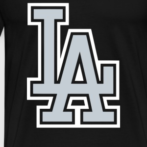 Los Angeles Dodgers LA - Men's Premium T-Shirt