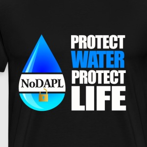 Water is life - NODAPL T-shirt - Men's Premium T-Shirt
