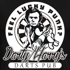 Darty Harry's Darts Pub Darts Shirt - Men's Premium T-Shirt