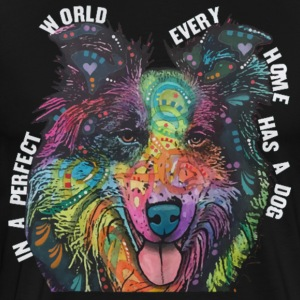 Collie In Every Home - Men's Premium T-Shirt