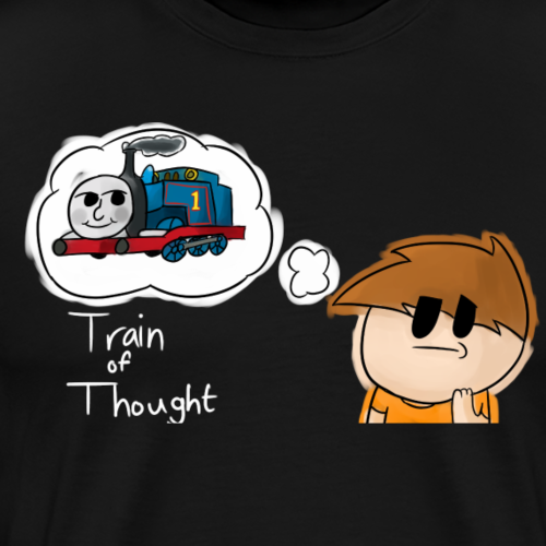 Train Of Thought - Men's Premium T-Shirt