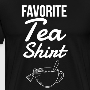 Favorite tea shirt - Men's Premium T-Shirt