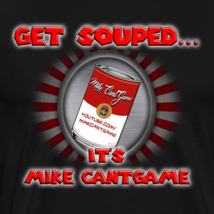 Mike CantGame Soup Can Shirt - Men's Premium T-Shirt