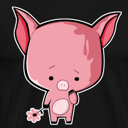 Sad Piggy - Men's Premium T-Shirt