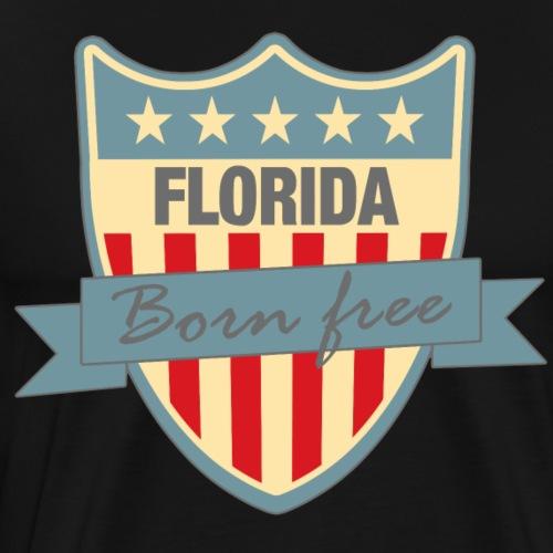 Florida Born Free Ramirez - Men's Premium T-Shirt