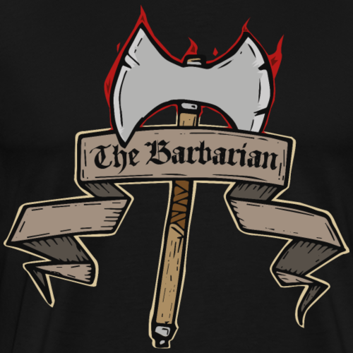 The Barbarian - Men's Premium T-Shirt