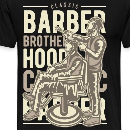 Classic Barber Brotherhood - Men's Premium T-Shirt