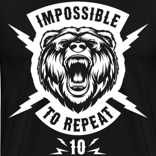 IMPOSSIBLE TO REPEAT V7 - Men's Premium T-Shirt