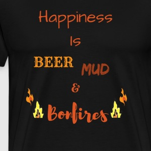 Happiness is Country Life - Men's Premium T-Shirt