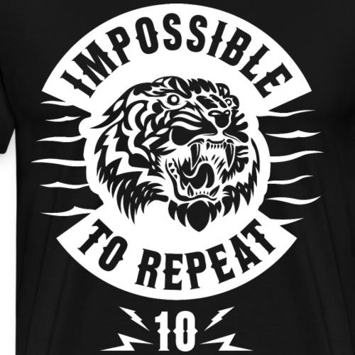 IMPOSSIBLE TO REPEAT V5 - Men's Premium T-Shirt