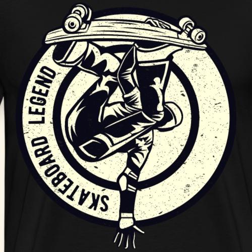 Skateboard Legend - Men's Premium T-Shirt