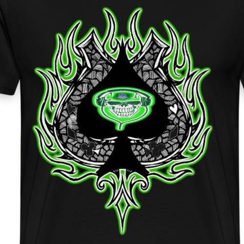 PTPB ACE OF SPADES - Men's Premium T-Shirt