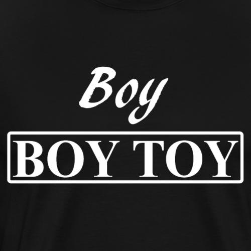 Boy BOY TOY gay men from Bent Sentiments - Men's Premium T-Shirt