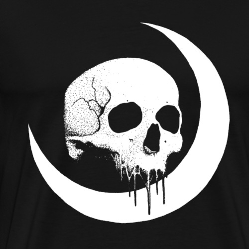 Crescent Skull - Men's Premium T-Shirt