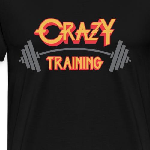 Crazy Training - Men's Premium T-Shirt