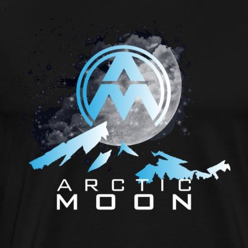 Arctic Moon Design 1 - Men's Premium T-Shirt
