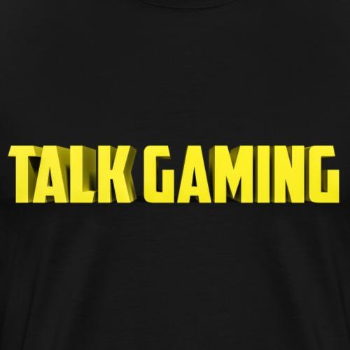 Talk Gaming - Men's Premium T-Shirt