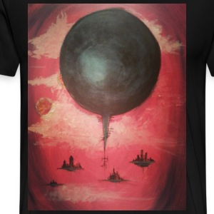 Our Systems are Overloaded Original painting - Men's Premium T-Shirt
