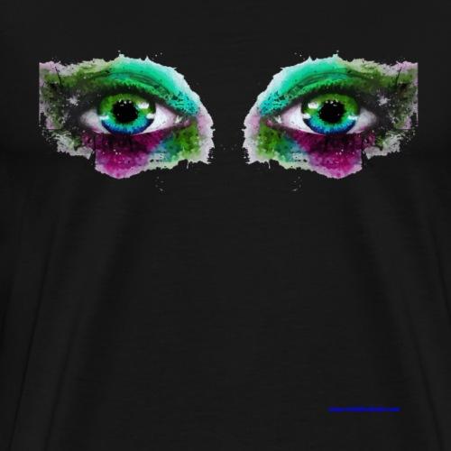 Watercolor Eyes - Men's Premium T-Shirt