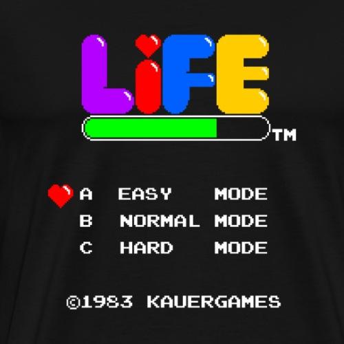 Game of Life - Main Menu - Men's Premium T-Shirt