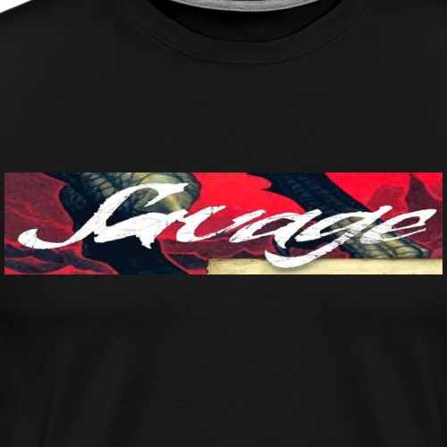 LIMITED EDITION - SAVAGE T-SHIRT - Men's Premium T-Shirt