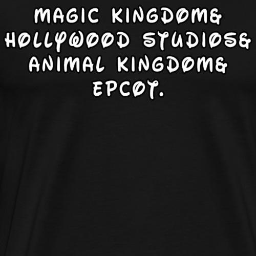 Florida Theme Park Amp - Men's Premium T-Shirt