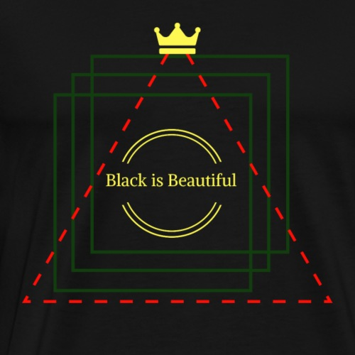 Black Is Beautiful - Men's Premium T-Shirt