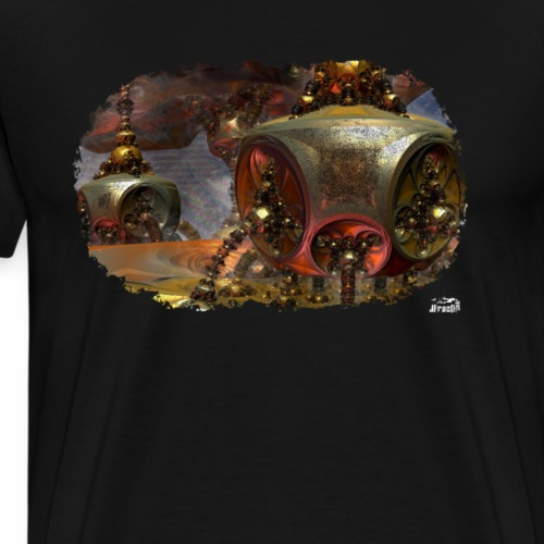 Muta v1, Fractal Insect - Men's Premium T-Shirt