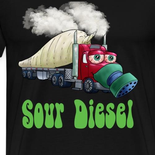 Sour diesel truck - Men's Premium T-Shirt
