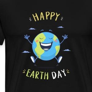 Happy Earth Day - Men's Premium T-Shirt