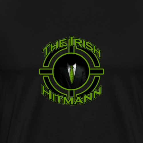 The Irish Hitmann Logo - Men's Premium T-Shirt