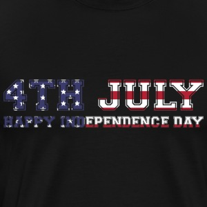4th July Happy Independence Day - Men's Premium T-Shirt