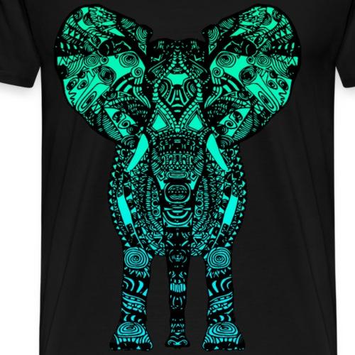 ELEPHANT - OCEAN PALETTE - Men's Premium T-Shirt