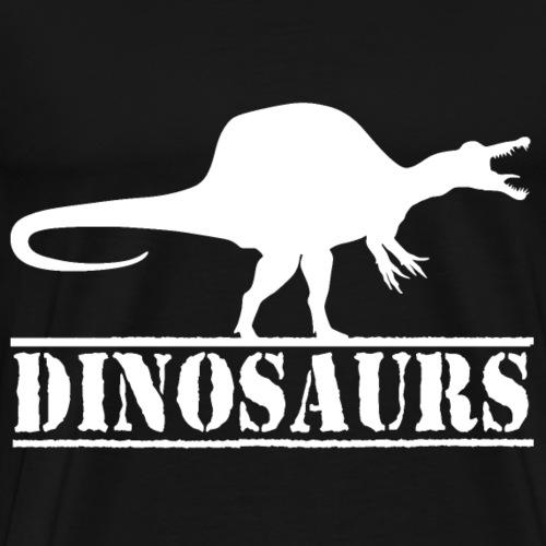 dinosaurs spinosaurus - Men's Premium T-Shirt