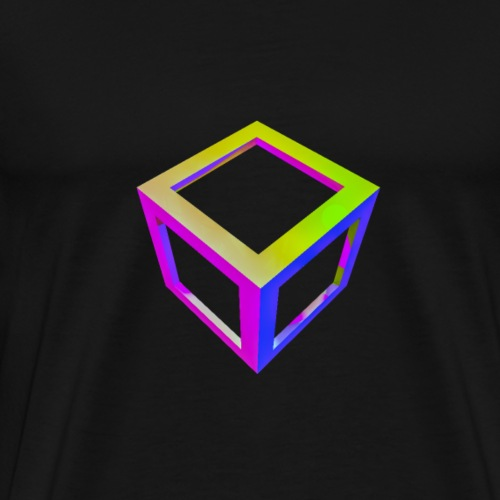 Vaporwave square - Men's Premium T-Shirt