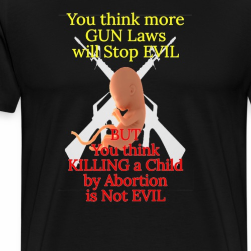 Stop the EVIL - Men's Premium T-Shirt