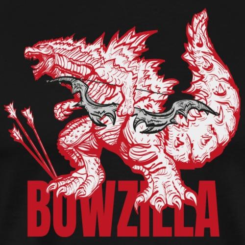 Bowzilla red (Archery by BOWTIQUE) - Men's Premium T-Shirt