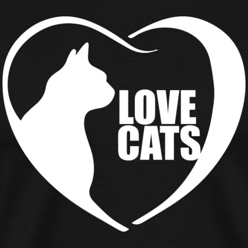 I Love cats T shirt Design I Love Kittens T Shirt - Men's Premium T-Shirt